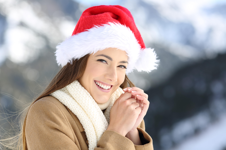 estética dental en navidad